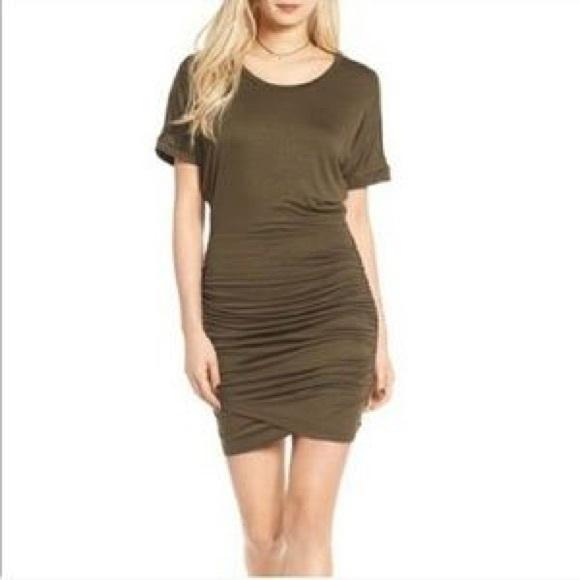 980804cba54 Leith Dresses   Ruched Dolman Bodycon Dress   Poshmark